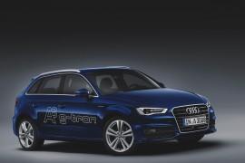 Audi A3 g-tron porusza się na syntetycznym e-gazie produkowanym przez Audi z CO2 i czystej energii elektrycznej.