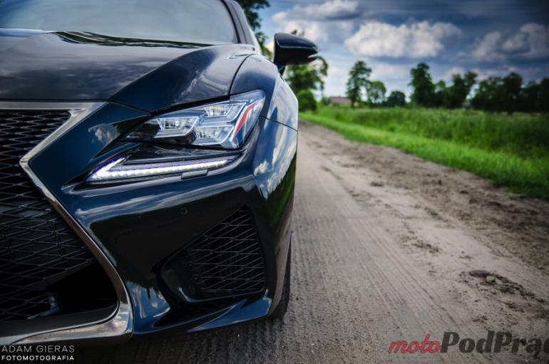 Test Lexus RC- F. Atletyczne Grand Turismo?