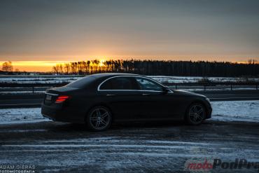 Testujemy: Mercedes Benz E220d 9G - Tronic