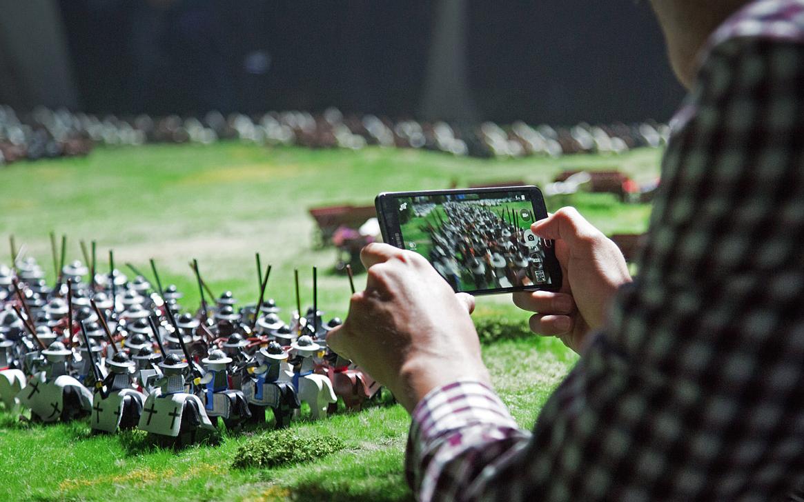 Co mają wspólnego klocki Lego z interaktywnym centrum historii?