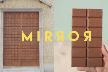 Drzwi z czekolady i winogronowy balon