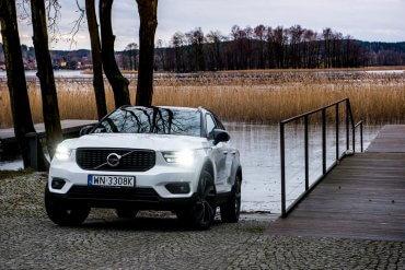 Volvo XC40 Design w wielkim mieście