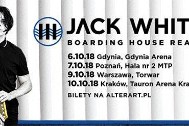Pierwsza trasa Jacka White'a wPolsce!