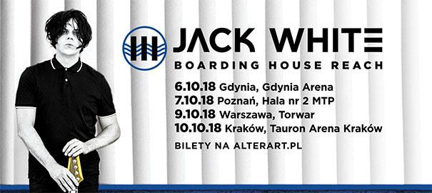 Pierwsza trasa Jacka White'a w Polsce!