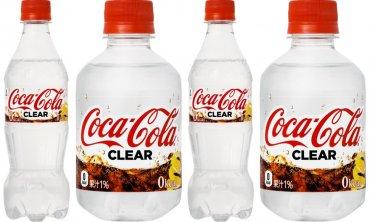 Powstała bezbarwna Coca Cola!