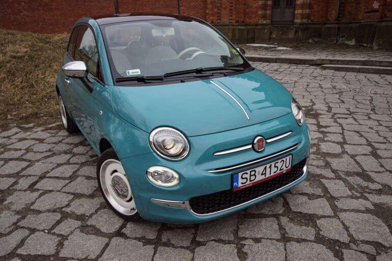 Poważnie Fiat 500 - czy takie auto pasuje do mężczyzny? Fiata 500 | Lounge GP14