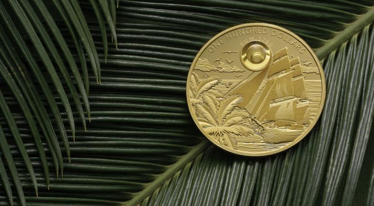 Rum Coin – w Londynie odbyła się premiera monety z kroplą rumu
