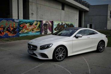 Mercedes S560 Coupe – osiągi, elegancja, prestiż.