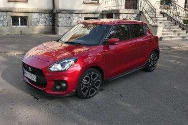 Test Suzuki Swift Sport – mało zaskakuje