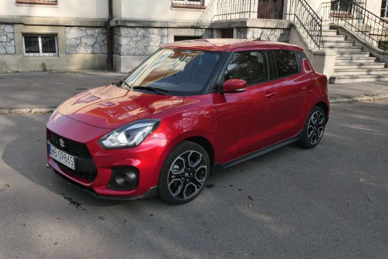 Test Suzuki Swift Sport - mało zaskakuje