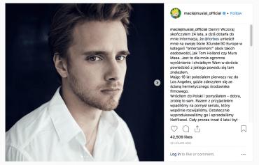 Maciej Musiał na liście młodych wpływowych Forbesa!