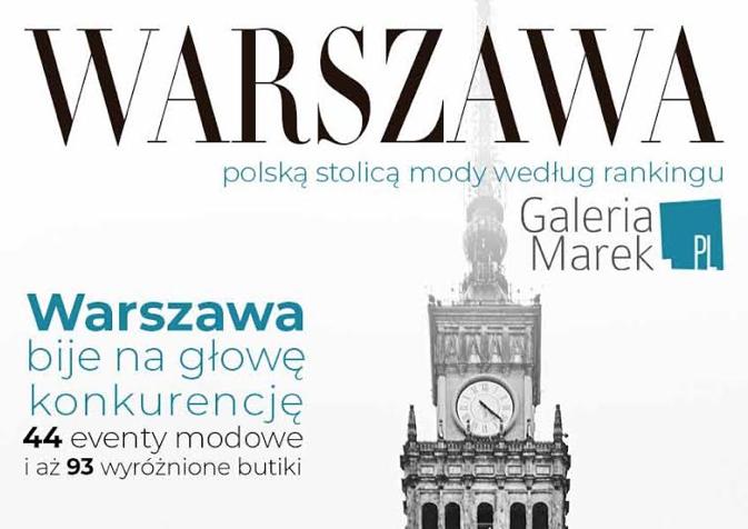 Gdzie znajduje się polska stolica mody? Top 10 najmodniejszych miast Polski