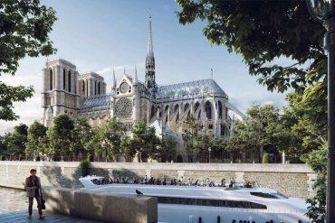Najbardziej zaskakujące koncepcje odbudowy Notre Dame