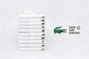 Lacoste rezygnuje zzielonego krokodyla!