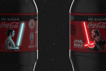 Gwiezdna Coca-Cola, która świeci własnym światłem!