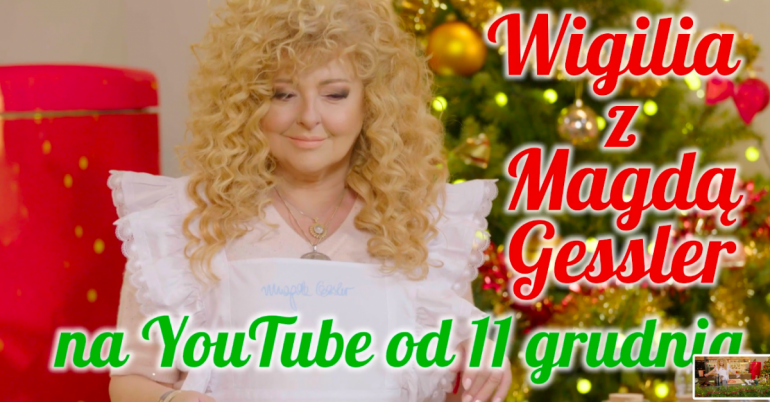 Premiera kanału Magdy Gessler na YouTubie!