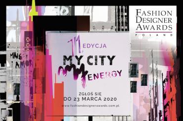 """Prestiżowy konkursów dla młodych projektantów! Kolejna edycja FDA """"My City, My Energy"""""""