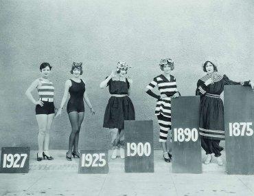 historia kostiumu kąpielowego
